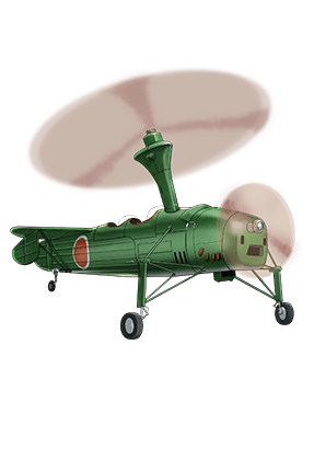 Ka Type Observation Autogyro 069 Equipment