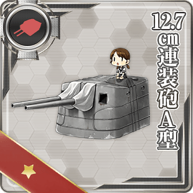 12.7cm Twin Gun Mount Model A 297 Card