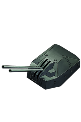 10cm Twin High-angle Gun Mount 003 Equipment