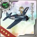 F6F-3 205 Card