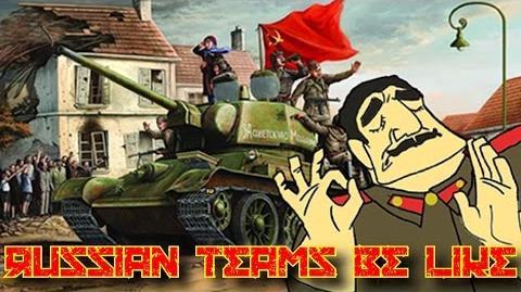 Russian Teams In WarThunder Be Like