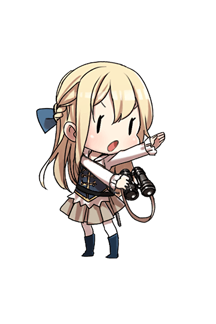 38.1cm Mk.I N Twin Gun Mount Kai 192 Character