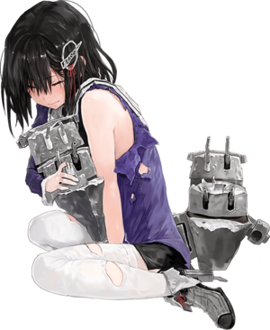 Haguro Kai Ni Full Damaged