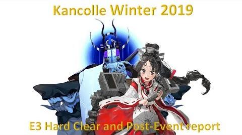 Kancolle Winter 2019 E3 Hard (甲) Clear Post Event Report