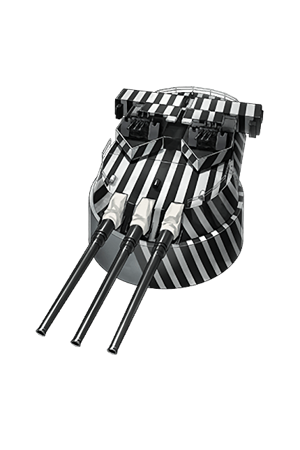 35.6cm Triple Gun Mount Kai (Dazzle Camouflage) 289 Equipment