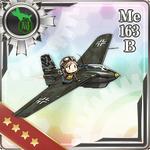 Me 163B 350 Card