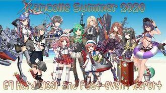 【艦これ梅雨夏イベ2020】Kancolle Rainy-Summer 2020 E7 Hard (E7甲) Clear Post-event Report