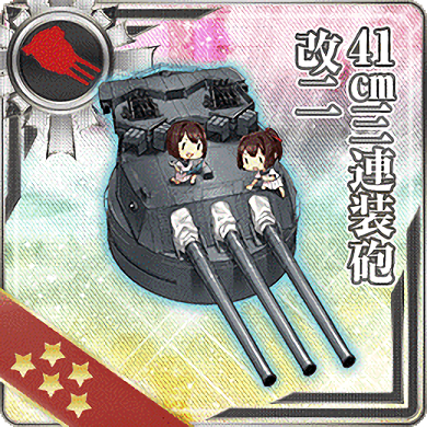 41cm Triple Gun Mount Kai Ni 290 Card