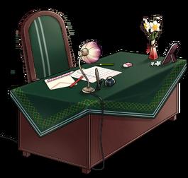 Mutsukis desk