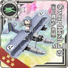 Swordfish Mk.III Kai (Seaplane Model Skilled) 369 Card