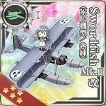 Swordfish Mk.III Kai (Seaplane Model Skilled) 369 Card