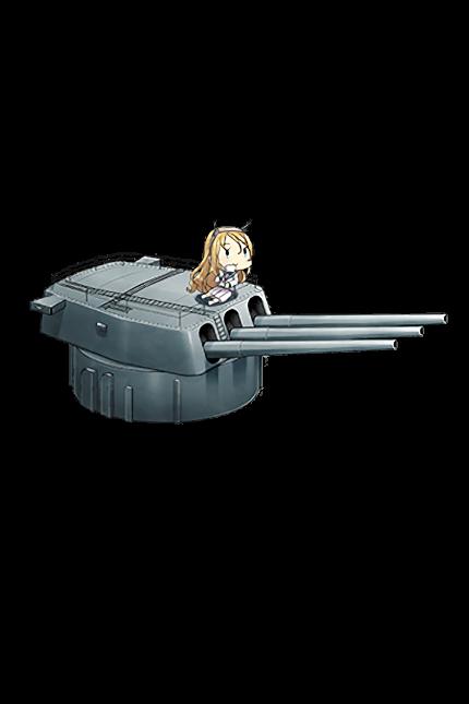 16inch Mk.I Triple Gun Mount 298 Full