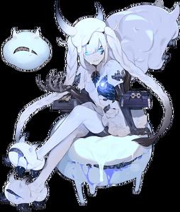 Abyssal Nimbus Princess - Damaged Full