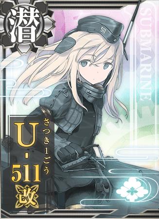 U-511 Kai Card