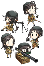 Daihatsu Landing Craft (Type 89 Medium Tank & Landing Force) 166 Character