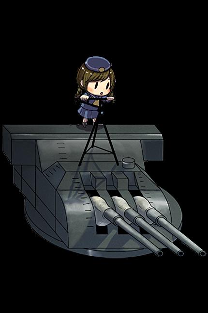 15.5cm Triple Gun Mount 005 Full