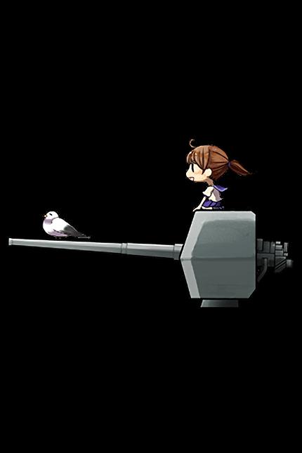 12cm Single Gun Mount 001 Full
