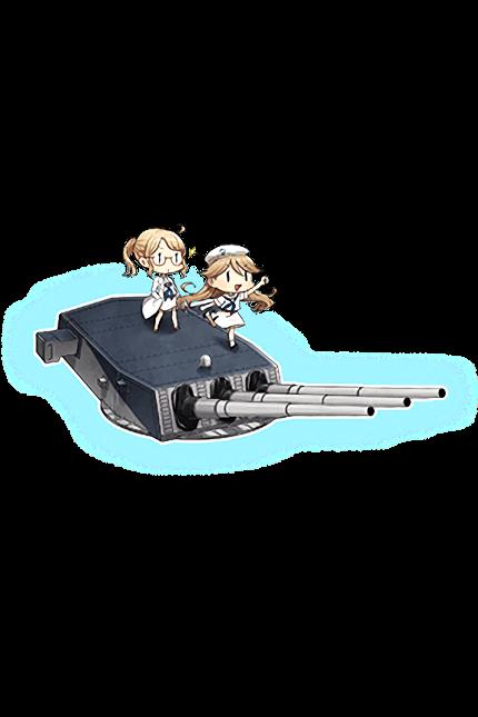 16inch Triple Gun Mount Mk.7 + GFCS 183 Full