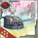51cm Twin Gun Mount 281 Card