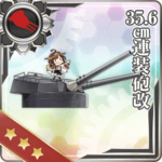 35.6cm Twin Gun Mount Kai 328 Card
