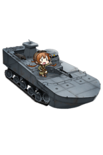 Special Type 2 Amphibious Tank 167 Full