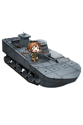 Special Type 2 Amphibious Tank 167 Full