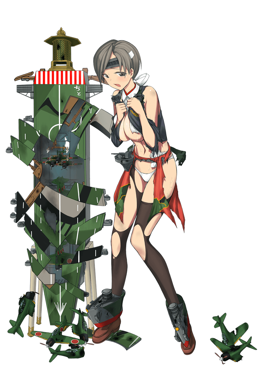 Chitose Carrier Kai Ni Full Damaged