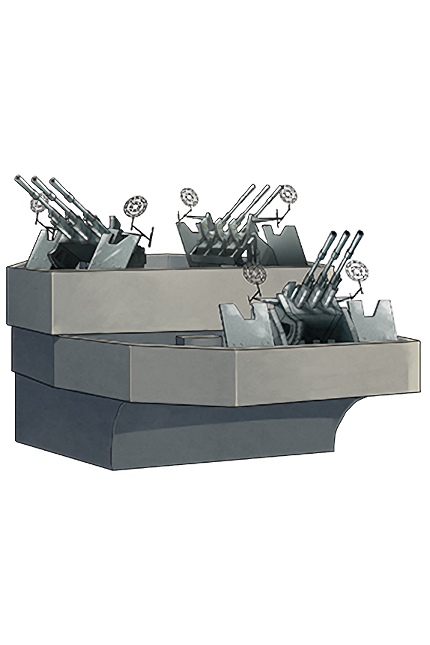 25mm Triple Autocannon Mount (Concentrated Deployment) 131 Equipment