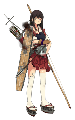 Akagi Full Damaged