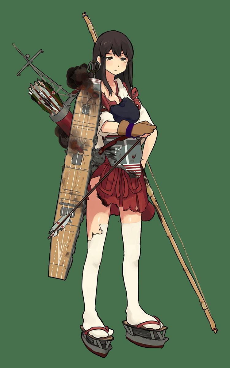 Akagi Full Damaged