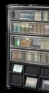 Study bookshelf
