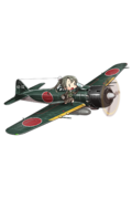 Zero Fighter Model 52C (w Iwai Flight) 153 Full