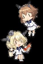 16inch Mk.VIII Twin Gun Mount Kai 332 Character