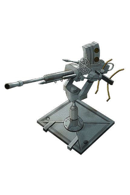 25mm Single Autocannon Mount 049 Equipment