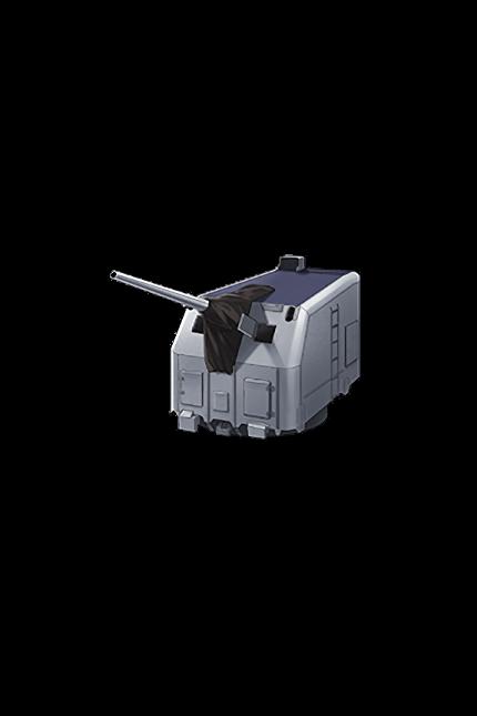 5inch Single Gun Mount Mk.30 Kai 313 Equipment