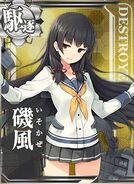 DD Isokaze 167 Card