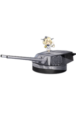 16inch Mk.V Twin Gun Mount 331 Full