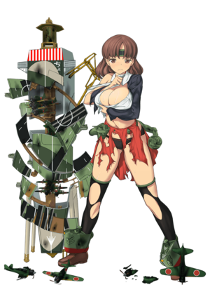 Chiyoda Carrier Kai Ni Full Damaged