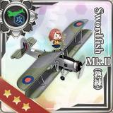 Swordfish Mk.II (Skilled) 243 Card