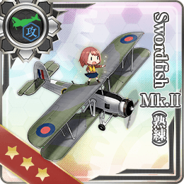 Swordfish Mk.II (Skilled) 243 Card