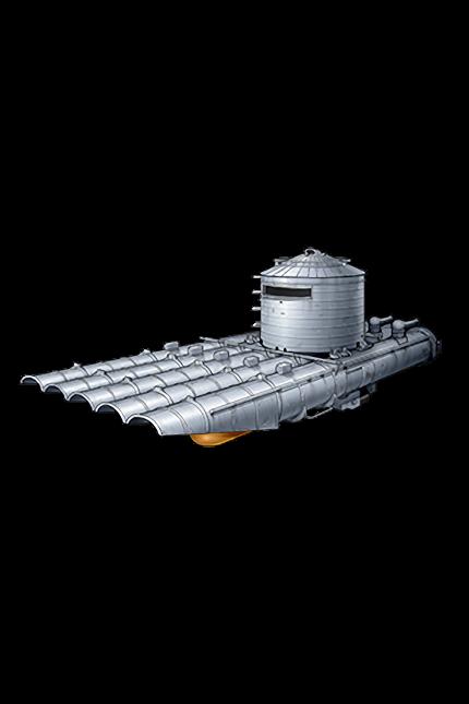 533mm Quintuple Torpedo Mount (Late Model) 376 Equipment