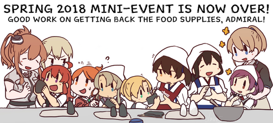 Spring 2018 Mini-Event End Banner