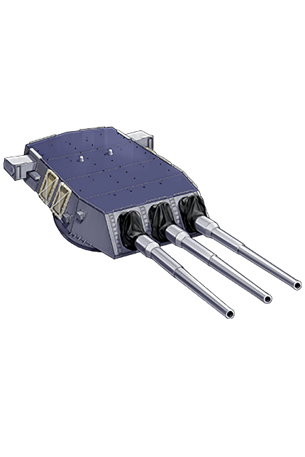 16inch Triple Gun Mount Mk.6 mod.2 385 Equipment