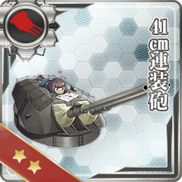 41cm Twin Gun Mount 008 Card