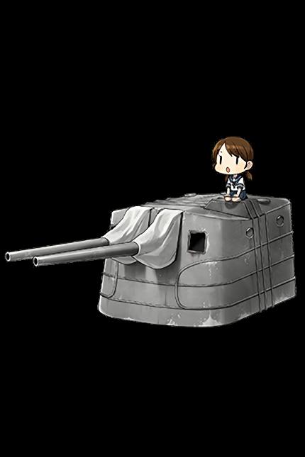 12.7cm Twin Gun Mount Model A 297 Full