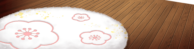 Round Winter Carpet
