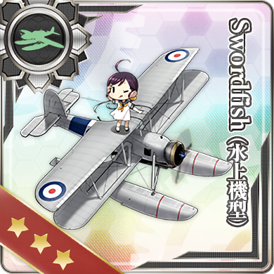 Swordfish (Seaplane Model) 367 Card