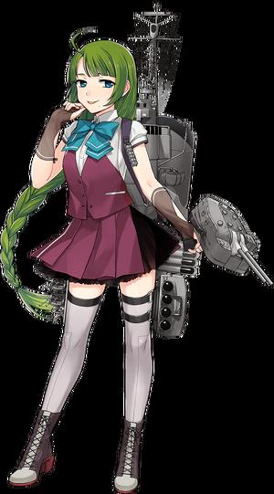 Yuugumo Kai Ni Summer Uniform Full