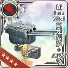 16inch Mk.I Triple Gun Mount + AFCT Kai 299 Card