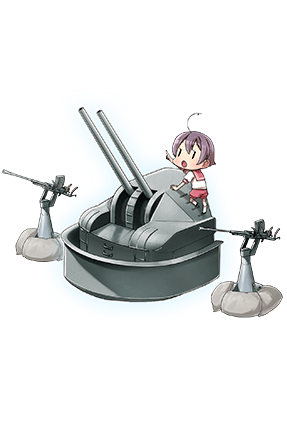 8cm High-angle Gun Kai + Additional Machine Guns 220 Full